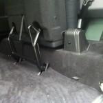Ausbau Sitze 3. Reihe